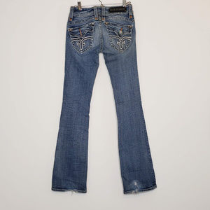 Rock Revival Stephanie boot cut jeans, 31.5 inseam
